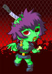 zombie girl mekolai
