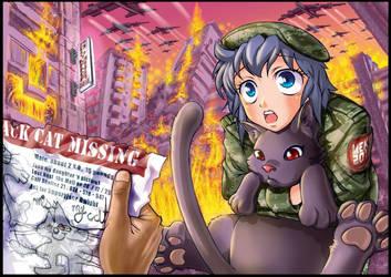 Mekolai Meko chat avant la fin du monde
