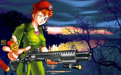pinup remington tactical 870 rm 870 meko mekolai