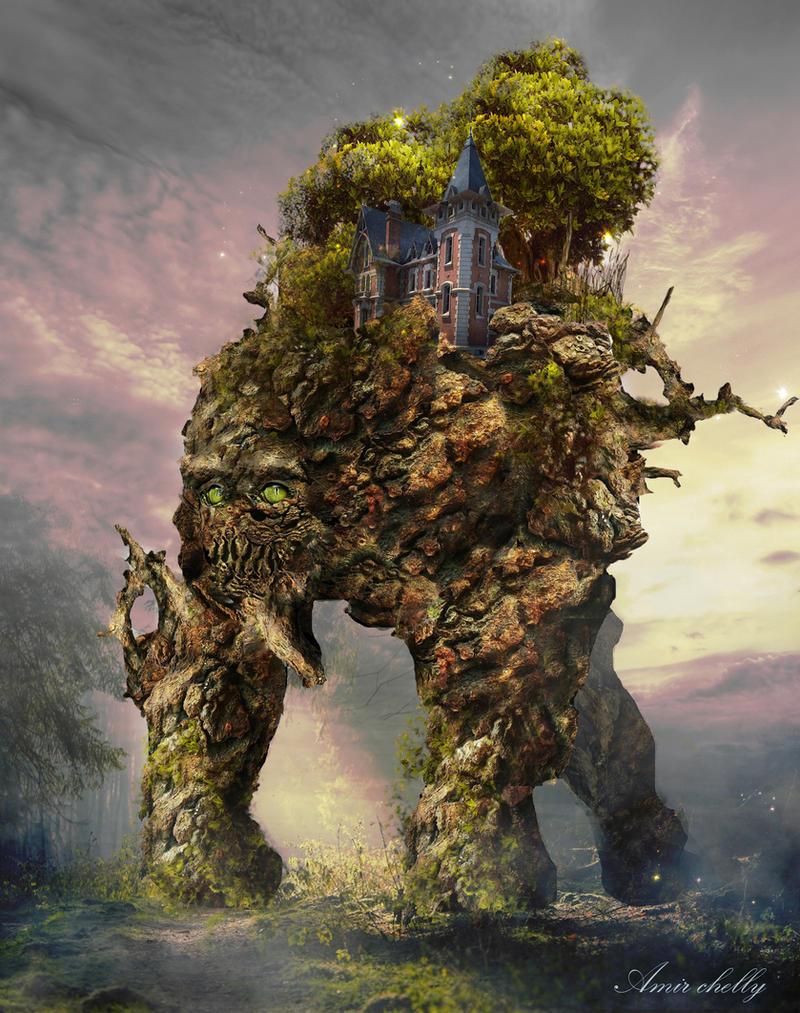 нас картинки про деревьев монстров ваша картинка