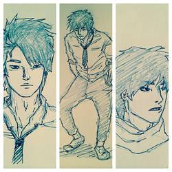 Kai sketch comp1 by Jiejiep