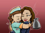 Agent Carter and Angie