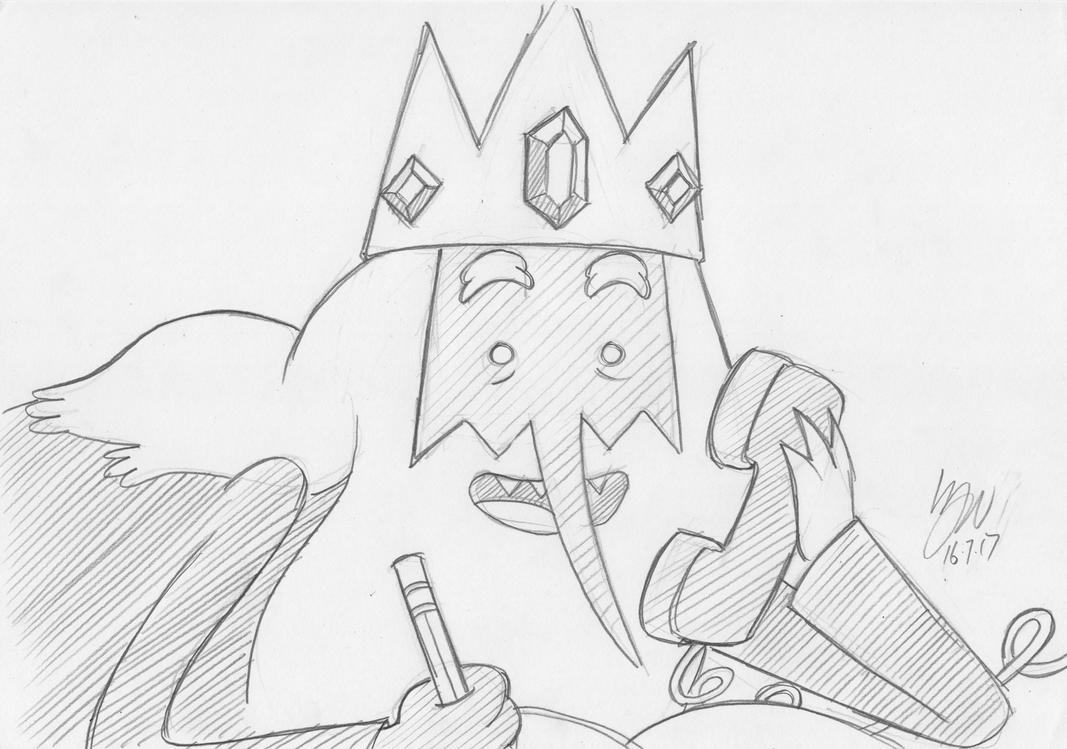 Ice King by lazytigerart
