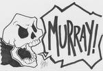 Inktober17-26: MURRAY by lazytigerart