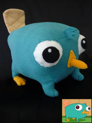 Perry the Platypus plush