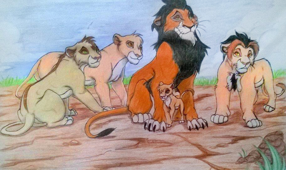 A Proud Father by UnknownLioness
