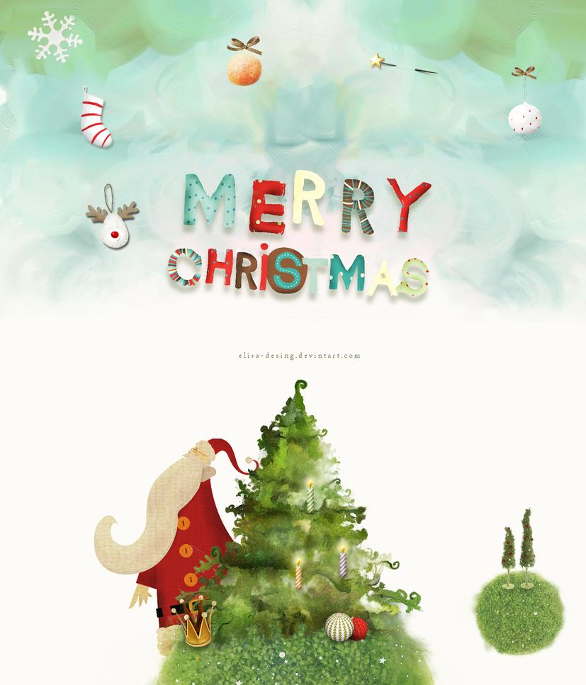 MERRY CHRISTMAS by elisa-desing