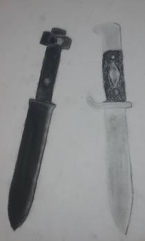 Knife + Holster