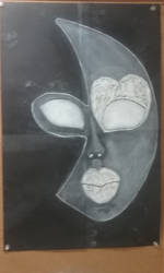 Half-Moon Mask