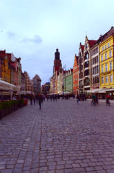 End of the summer in Wroclaw by Fautex