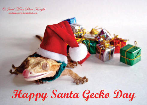 HAPPY SANTA GECKO DAY!