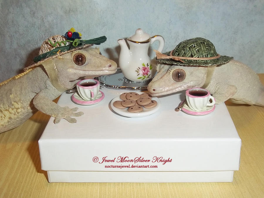 MOCHA and GINGER'S TEA PARTY