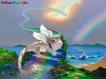 RAINBOW BRIDGE ANGEL by Heather-Chrysalis