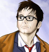 Ten - The Doctor by Darkshadowolf