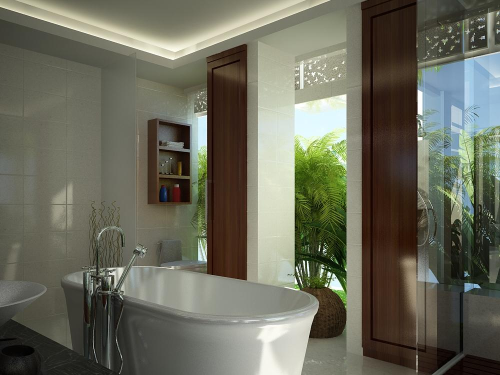 master bathroom 2 by outboxdesign
