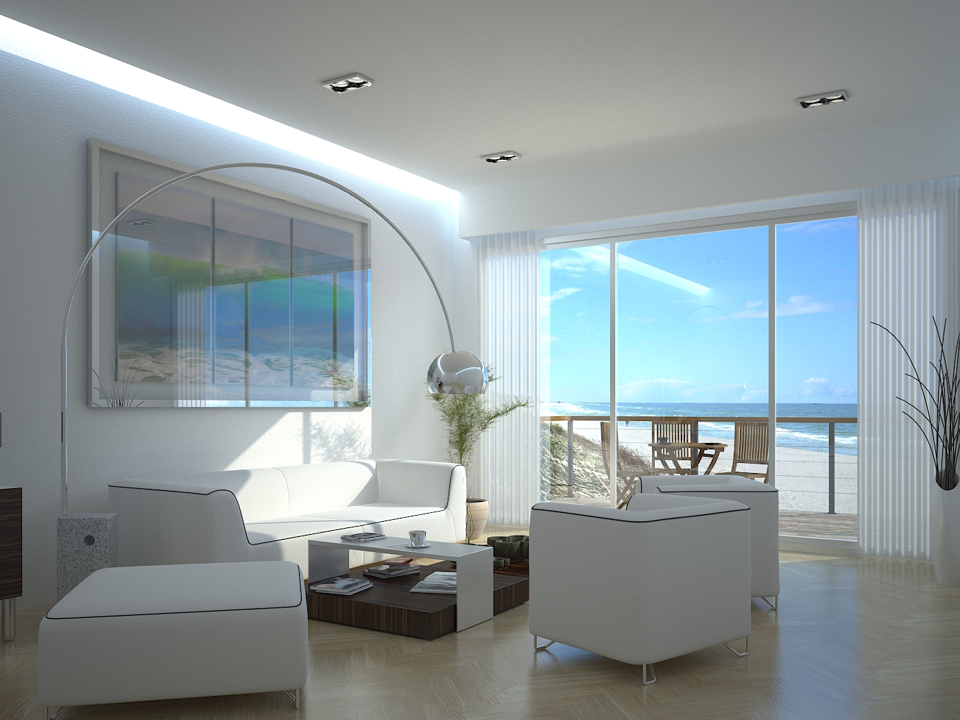 New beach house interior by outboxdesign on deviantart Interior design ideas for beach home