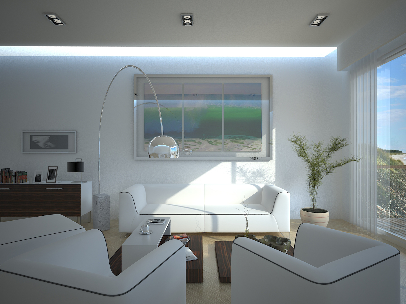 New beach house interior 2nd by outboxdesign on deviantart for Interior designs for beach houses