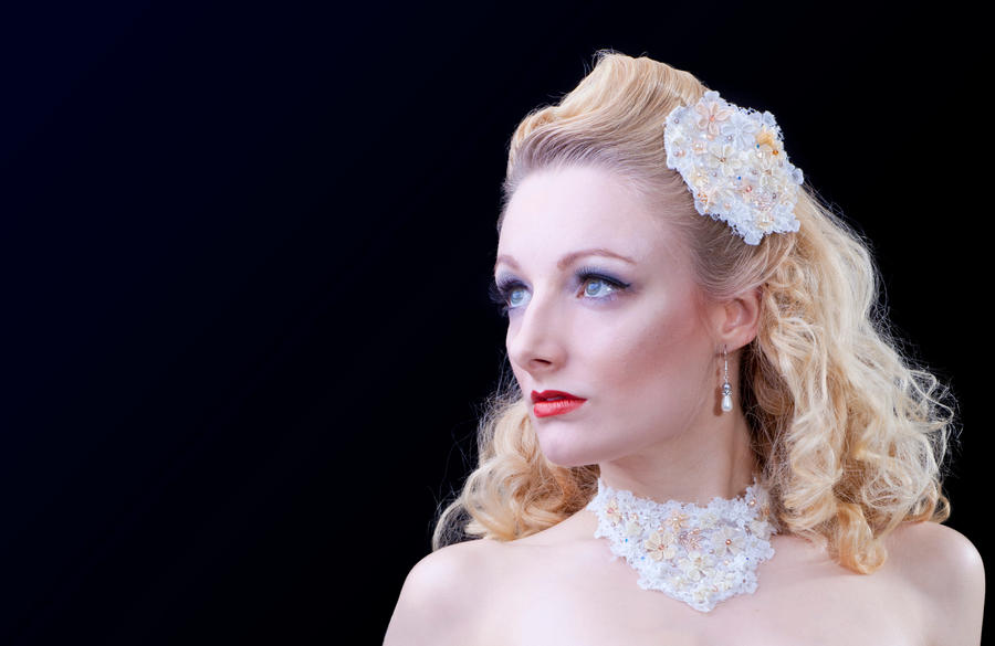 Vintage Bridal Blonde