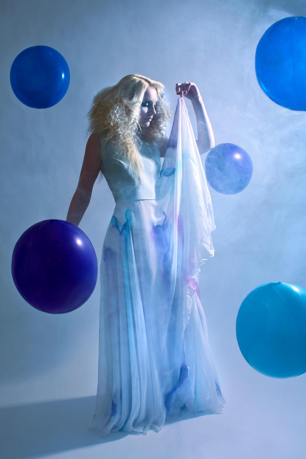 Blue cloud by JosephineJonesMUA