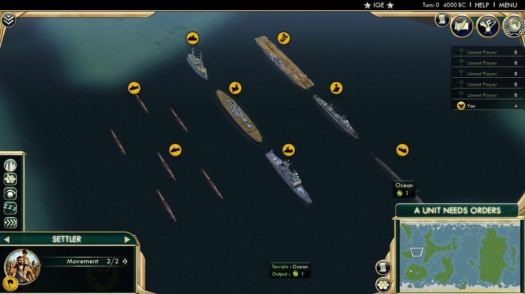 civilization 5 лодка