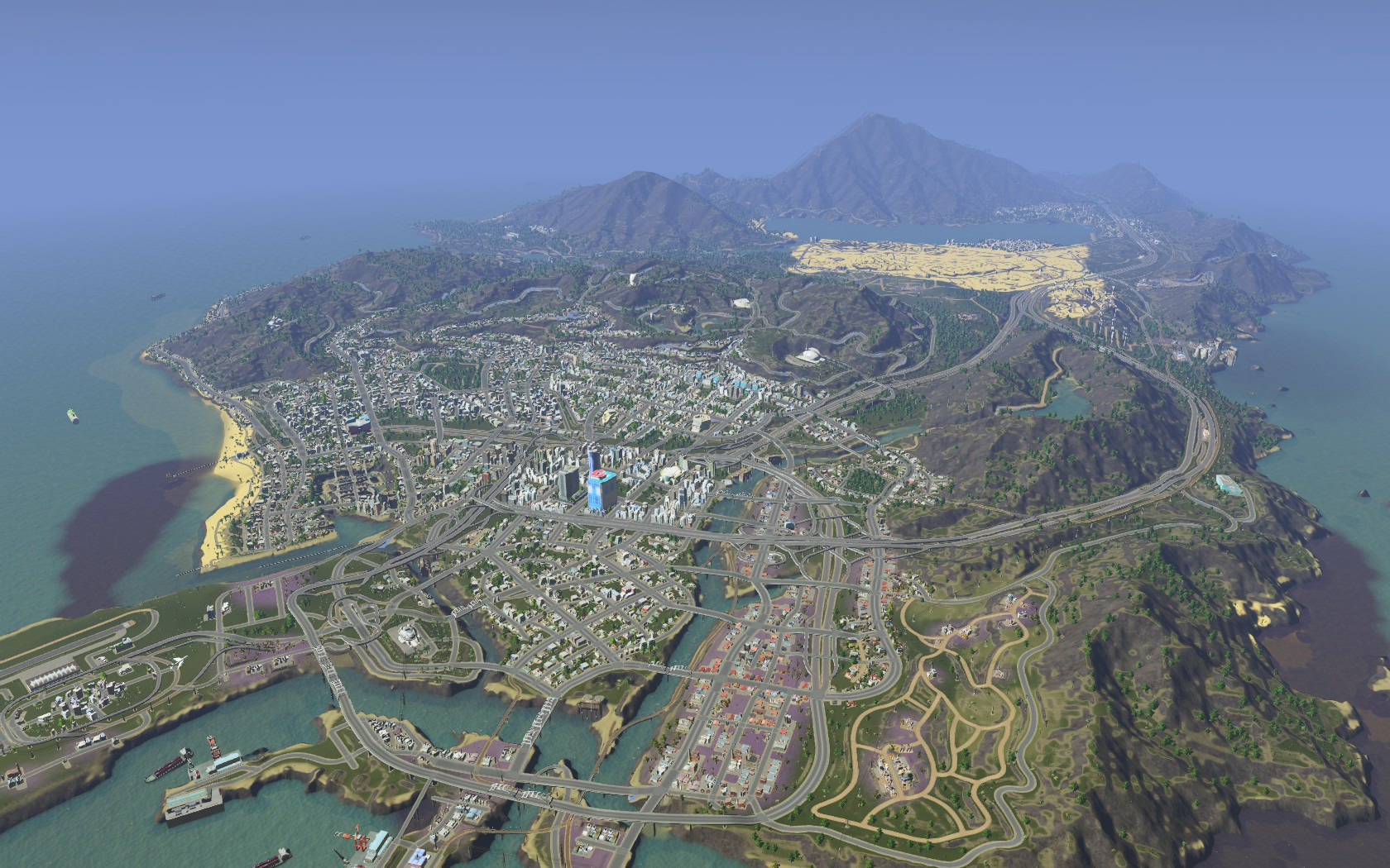 Gta v pc in cities skylines by stratocracy on deviantart in cities skylines by stratocracy gumiabroncs Gallery