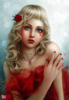 Be my Valentine by OmarDiazArt