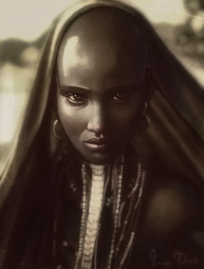 Ethiopian beauty by Dark-Adon