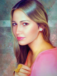 Portrait Commission November 2015 by OmarDiazArt