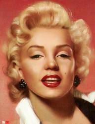 Marilyn by OmarDiazArt