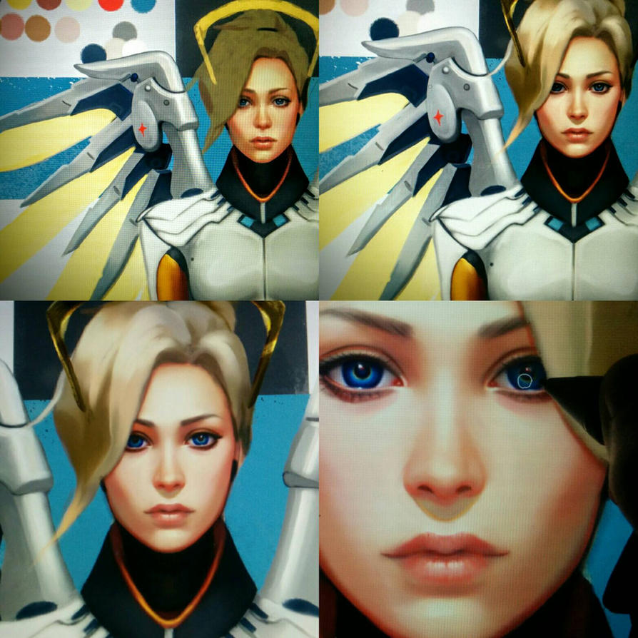 Mercy Wip II by OmarDiazArt