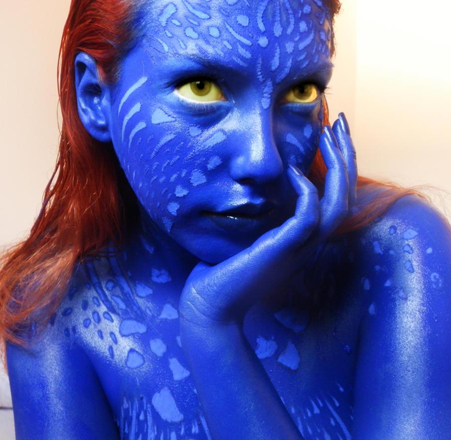 X men makeup artist