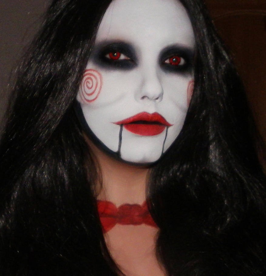 Billy the puppet from Saw Makeup by me :) by marymakeup on ...