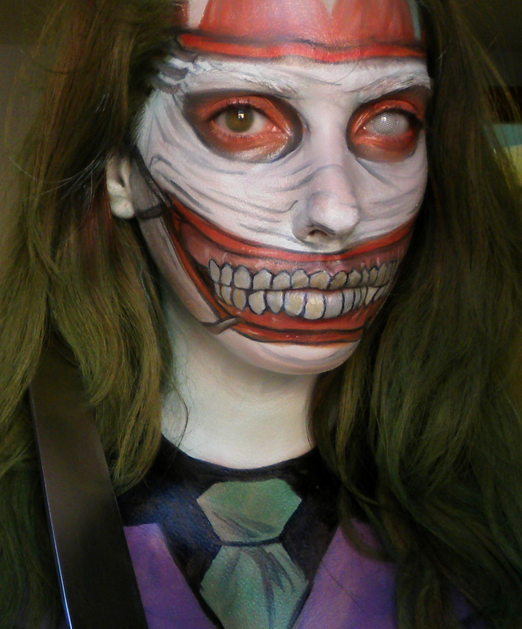 Joker Face Makeup By Marymakeup On DeviantArt