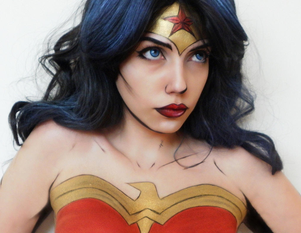 Wonder Woman Makeup Cosplay By Marymakeup On DeviantArt