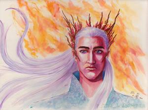 Thranduil watercolor