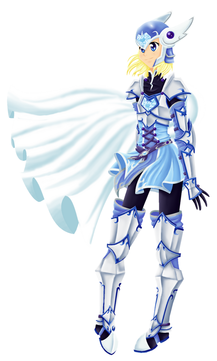 The Blue Knight by Aijihi