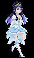 Commission: Cure White, Princess Version