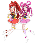 Cure Dream and Cure Ember, Happiness Charge Style