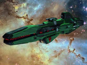 Kaftan Class Frigate 2 by DevilDalek