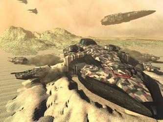 Kashim Combat Lander by DevilDalek