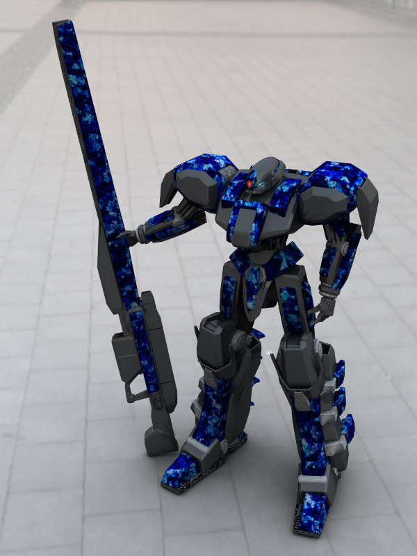 Gunsniper Mecha by DevilDalek