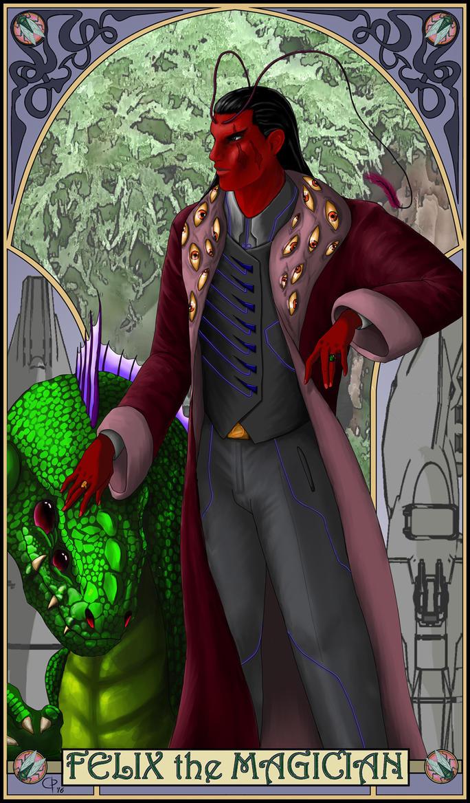 Felix as a Tarot by DevilDalek