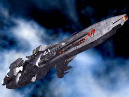 Melkova War Cruiser by DevilDalek