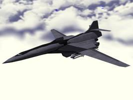 Blacksword Strategic Bomber by DevilDalek
