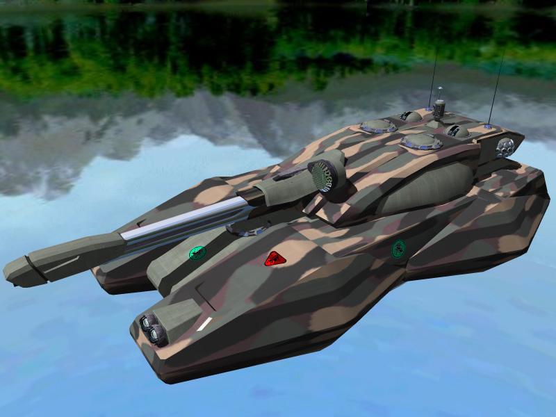 Iron Jihad Tank by DevilDalek