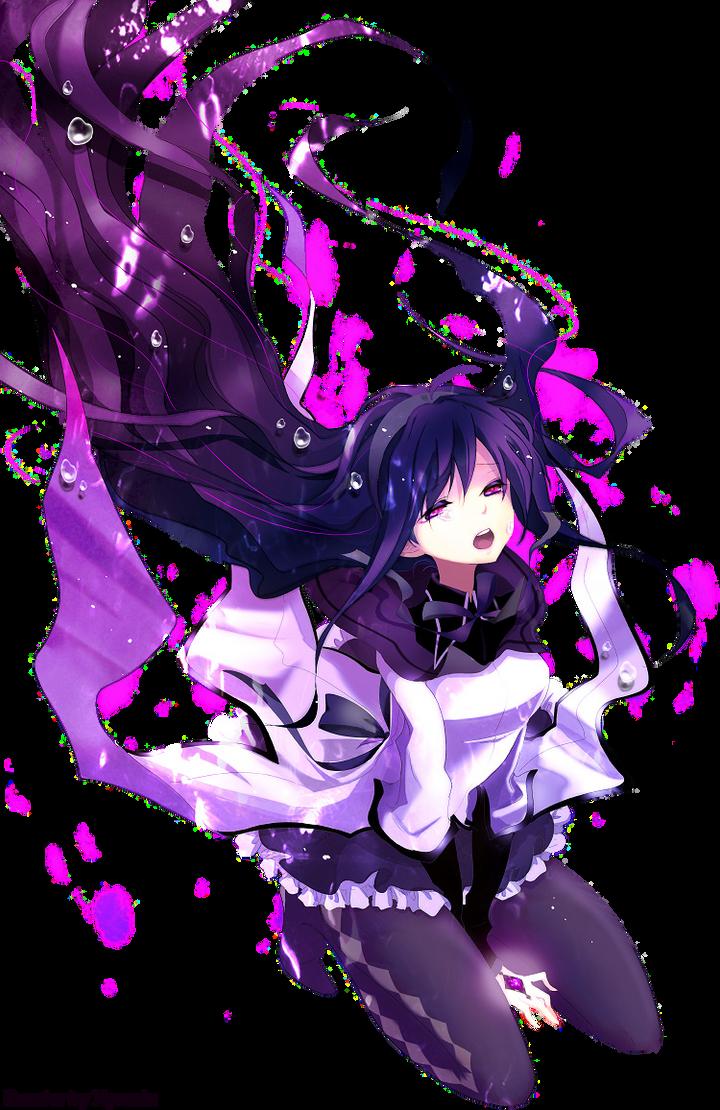 render manga Homura_chan_render_by_zyresic-d3cm46o