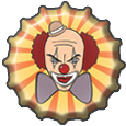 Bottlecap: Psycho Clown by rudeboyskunk