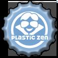 Bottlecap: Plastic Zen Blue by rudeboyskunk