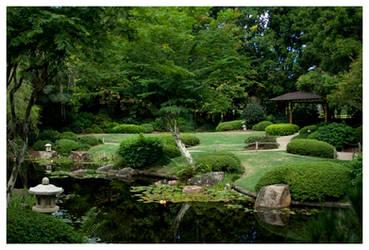 Japanese Garden by rudeboyskunk