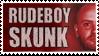 Rude Boy Skunk Stamp by rudeboyskunk